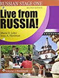 img - for Russian Stage One: Live From Russia: Volume 2 Workbook, Second Edition book / textbook / text book