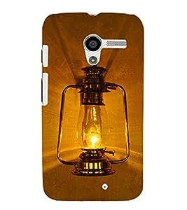 Black Electric lantern 3D Hard Polycarbonate Designer Back Case Cover for Motorola Moto X XT1058 :: Motorola Moto X (1st Gen)