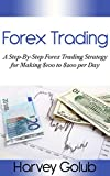 Forex Trading: A step-by-step forex trading strategy for making $100 to $200 per day