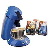 PHILIPS ポッド式コーヒーメーカー Senseo(センセオ) HD7810/70 ブルー + Amazon.co.jp 特別セット[セレクションシリーズ 新味3袋計30ポッド]付