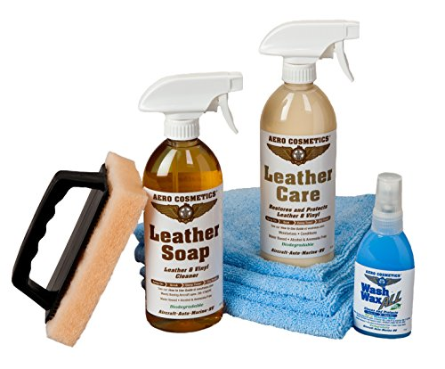 Aircraft Quality Leather Vinyl Care Kit for your RV Car Boat and Furniture