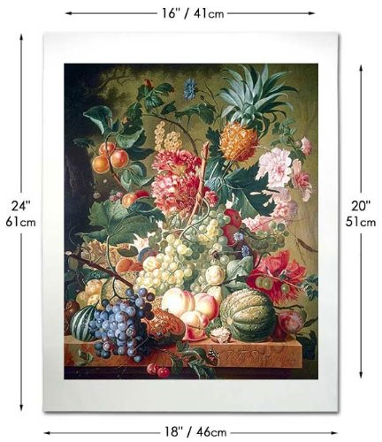 Fruit and Flowers - Huysum 24