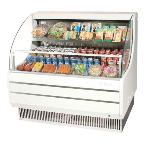 Turbo Air, Inc Refrigerated Open Display Case (10.5 Cubic Ft.)