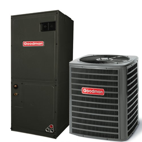 4 Ton 16 Seer Goodman Air Conditioning System - GSX160481 - AVPTC48D14 (2 Tons Central Ac compare prices)