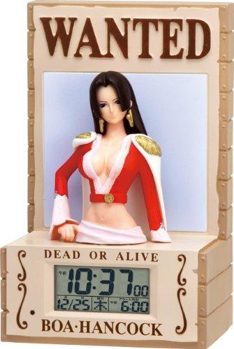 ONE PIECE ボア・ハンコック 3D音声目覚し時計 8RDA59RH09