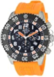 Invicta Men's 1103 Pro Diver Stainless Steel and Orange Rubber Watch
