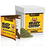 Krazy Catnip • World's Best! • Fresh & Organic • Perfect for Catnip Toys • Stimulates Playful Behavior • Great for ALL Cats • Hand Picked & Packed With Love • Grown in the USA • BIG 4 Ounces!