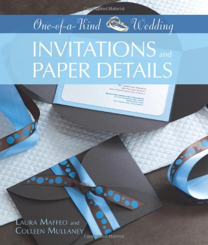 Invitations and Paper Details (One-of-a-Kind Wedding)
