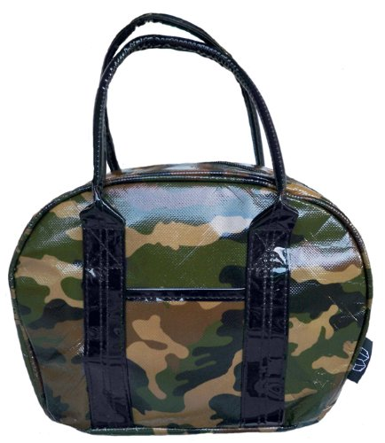 Two Lumps of Sugar Mini Bowler Lunch Bag, Camo