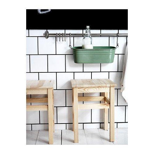 IKEA Oddvar - Taburete, pino