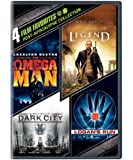 4 Film Favorites: Post-Apocalypse (I Am Legend, Logan's Run, Dark City Director's Cut, The Omega Man)