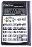 Sharp EL-480SRB 10-Digit Twin Powered Basic Handheld Calculator