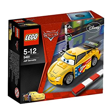 LEGO Cars - 9481 - Jeu de Construction - Jeff Gorvette