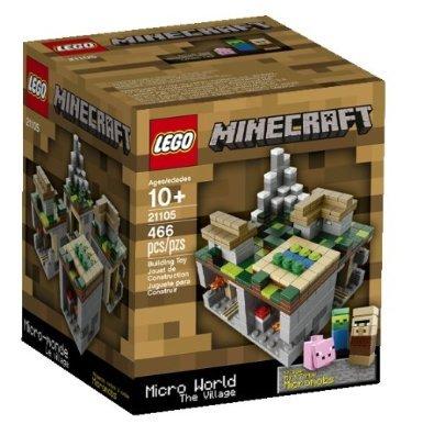 LEGO(レゴ) Minecraft The Village 21105 マインクラフト ザ・ビレッジ(村) [並行輸入品]
