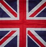 UNION JACK BANDANA BRITISH FLAG COTTON BRITAIN HEAD NECK SCARF