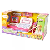 Children Play House Toys Simulation Supermarket Cash Register 2430 Pink 14003213