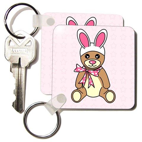 Easter Cute Easter Teddy Bear  Bunny Ears - Set