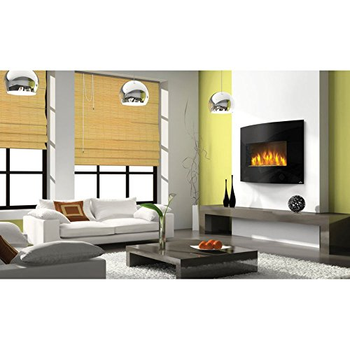 Napoleon EFC32H Curved Wall Mount Electric Fireplace, 32-Inch (32 Electric Fireplace compare prices)