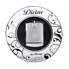 Memup Divine Tragbarer MP3-Player 4 GB (Stereo In-Ear-Kopfhörer mit Halsband Halterung, 77 dB, USB 2.0) silber