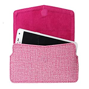DooDa PU Leather Pouch Case Cover With Card / ID Slots For LG Optimus L9 (P765)