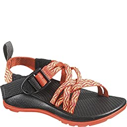 Chaco ZX1 Ecotread Sandal (Toddler/Little Kid/Big Kid), Rainbow, 6 M US Big Kid