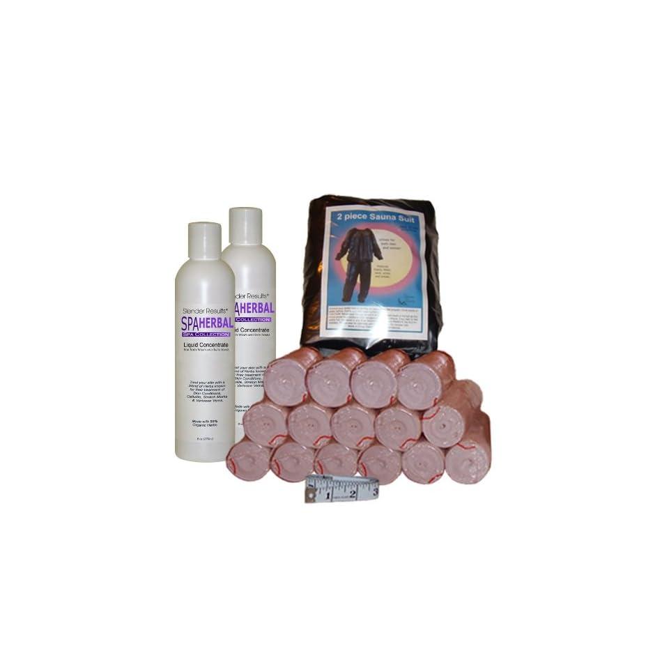 SLENDER RESULTS Herbal Body Wrap Kit Beauty