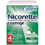 Nicorette Lozenge Mint , 4 mg, 72-Count ~ Commit