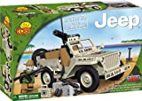 Cobi Jeep Willys with minigun (100 Pieces)