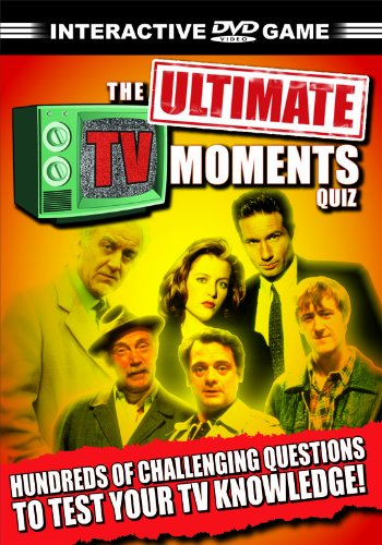 The Ultimate TV Moments Quiz [DVD]