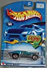 Hot Wheels 2002 Side Kick Red Line 3/4 #105 Blue