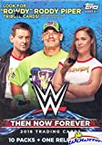 2018 Topps WWE Wrestling Then Now Forever EXCLUSIVE Factory Sealed Retail Box with RELIC Card! Look for Cards & Autos of WWE Superstars Jon Cena, Liv Morgan, Many Ross, Shawn Michaels & More! WOWZZER!