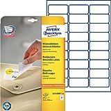 Avery Zweckform L4737REV-25 Universal-Etiketten 25 Blatt weiß