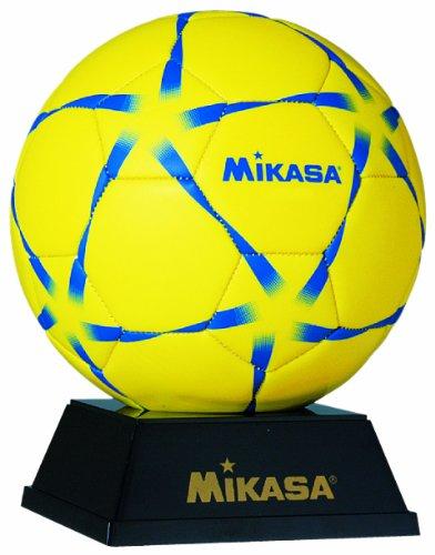 ミカサ 記念品マスコット サッカーボール/ハンドボール ボール台付 化粧ケース入 PKC2-H