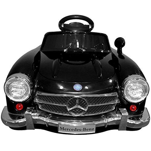 giantex black mercedes benz 300sl amg rc electric toy kids. Black Bedroom Furniture Sets. Home Design Ideas
