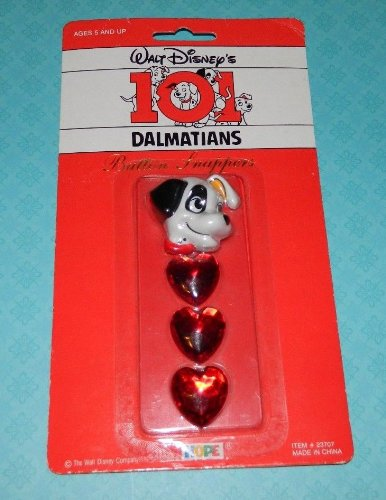 1992 101 Dalmations Button Snappers - 1