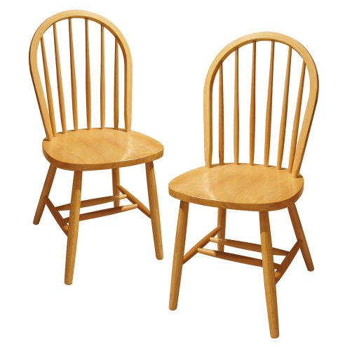 Twin Pack Windsor Natural Chairs