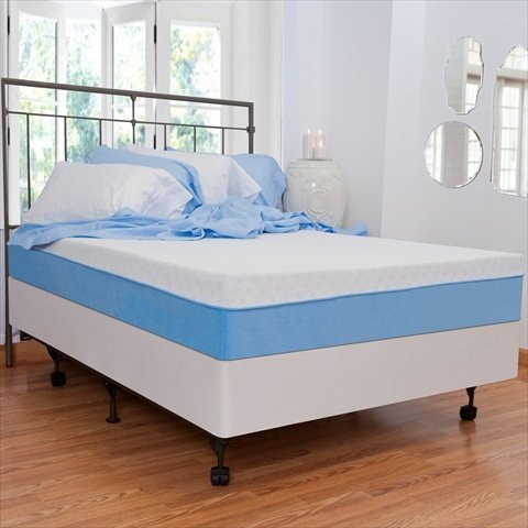 "10"" Memory Foam Mattress Size: Full"