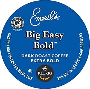 Keurig, Emeril's, Big Easy Bold, K-Cup Counts, 50 Count