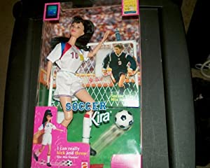 Soccer Kira Barbie 1998 Edition Womens World Cup FIFA
