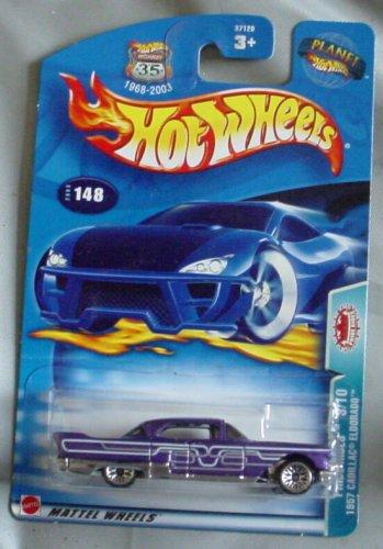 Hot Wheels 2003 Pride Ridge 1957 Cadilliac Eldorado #3/10 Collector 148 1:64 Scale - 1