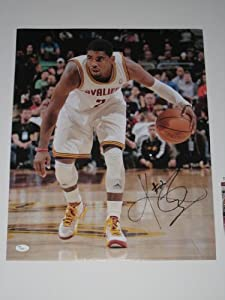 Kyrie Irving Autographed Cleveland Cavaliers 16x20 Photo (JSA COA)