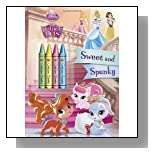 Sweet and Spunky (Disney Princess: Palace Pets) (Color Plus Chunky Crayons)