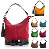 Big Handbag Shop Womens Designer Top Handle Bucket Shape Shoulder Satchel Bag