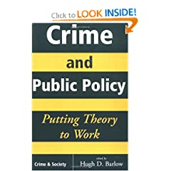 Crime And Public Policy: Putting Theory To Work (Crime & Society)