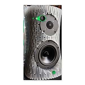 Ajay Enterprises Wo Aqua Speaker Back Case Cover for Lumia 730