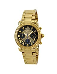 "JBW-Just Bling Women's JB-6210-B ""Victory"" Gold-Tone Diamond Watch"