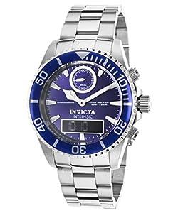 Invicta Men's 12469 Pro Diver Quartz Multifunction Blue Dial Watch