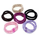 Fashion Dimensions 12pc Multicolor Felt Scrunchies