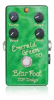 BearFoot Guitar Effects Emerald Green Overdrive �٥��եåȥ��������ե����� ������ɥ�����С��ɥ饤�� ����������