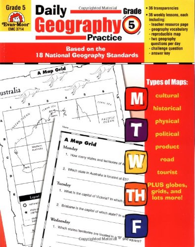 Daily Geography Practice Grade 5